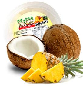 Bala de Coco com Abacaxi Alfiniz 120g